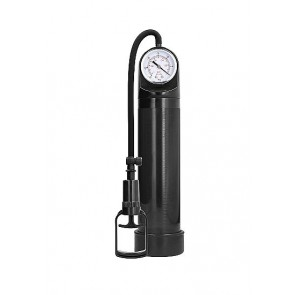 Pumped Comfort Pump With Advanced PSI Gauge Black