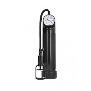 Pumped Comfort Pump With Advanced PSI Gauge Black