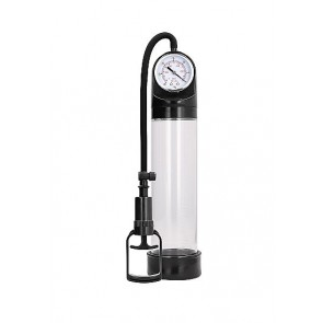 Pumped Comfort Pump With Advanced PSI Gauge Transparent