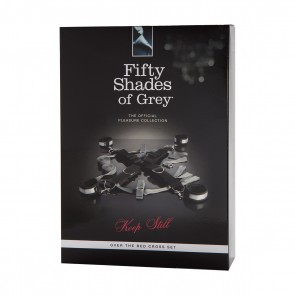 FIFTY SHADES OF GREY KEEP STILL OVER THE BED RESTRAINTS