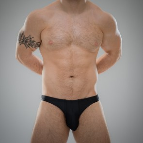 SUKREW Full Thong in Nightlife Black