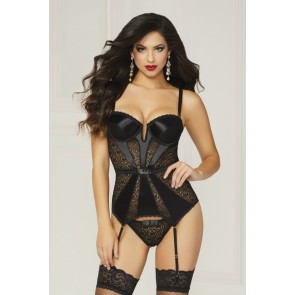 Seven Til Midnight Pleasure Principle Bustier Set