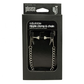 Bound to Please Adjustable Nipple Clamp & Chain
