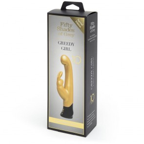 Fifty Shades of Grey Greedy Girl 10 Year Anniversary Rabbit Vibrator