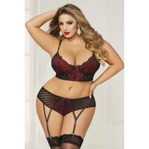 Seven Til Midnight Bra & Panty Set