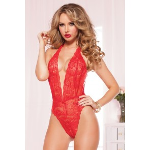 Kiss of Envy Lace Teddy