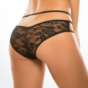 Adore by Allure Sweet Heavens Crotchless Lace Knickers