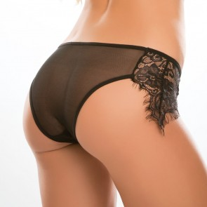 Adore by Allure Lavish & Lace Crotchless Knickers