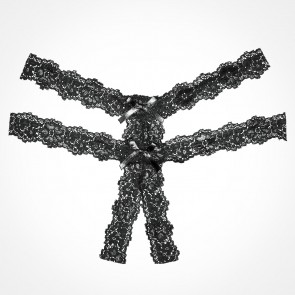 Adore by Allure Southern Rhapsody Crotchless Lace Thong