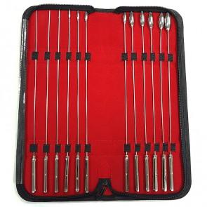 12 Piece Rosebud Urethral Sound Kit