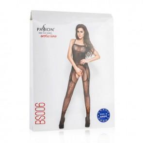 Passion Elegant Mesh Crotchless Bodystocking