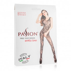 Passion Crotchless Mesh Bodystocking