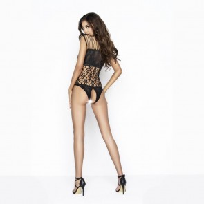 Passion Sophisticated Net Crotchless Body