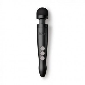 DOXY Die Cast 3R Rechargeable Wand Massager - Matte Black