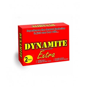 Dynamite Extra Herbal Male Enhancement Capsules 2 Pack