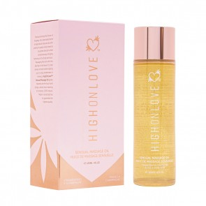 High on Love - Massage Oil Strawberries & Champagne 120ml