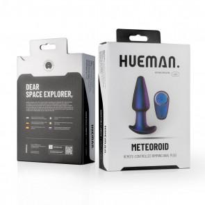 HUEMAN - Meteoroid Rimming Remote Controlled Anal Plug