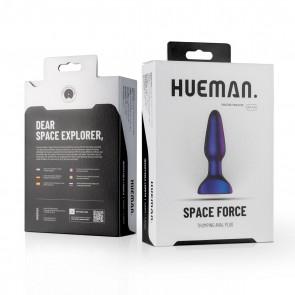 HUEMAN - Space Force Vibrating Butt Plug