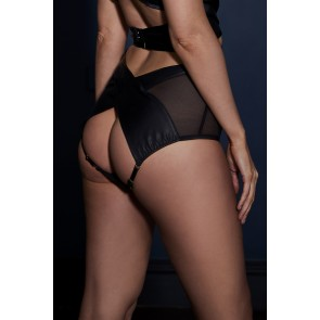 Something Wicked Lexi Handmade Leather High Waist Briefs