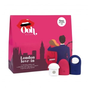 London Love-in - Clitoral Massager & Cock Ring Vibrator Pleasure Kit