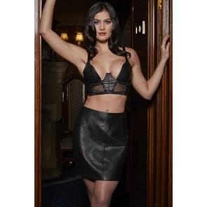 Something Wicked Mia Handmade Leather Skirt