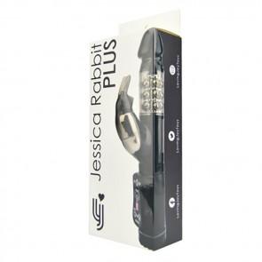 Jessica Rabbit Plus Vibrator - Black