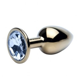 Precious Metals Gold Butt Plug - Small