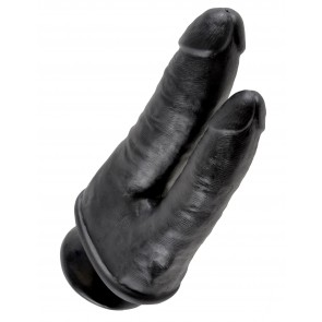 King Cock Double Penetrator with Suction Cup