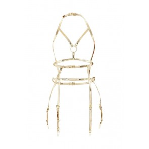 REGALIA GOLD OPEN SUSPENDER HARNESS