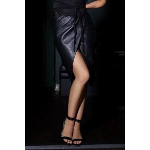 Something Wicked Lexi Handmade Leather Skirt