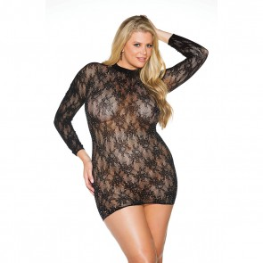 Shirley of Hollywood Rhinestone Chemise - Plus Size