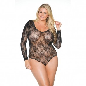 Shirley of Hollywood Rhinestone Body - Plus Size