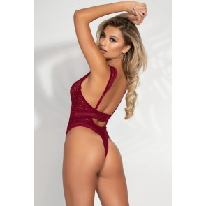 Legendary Lace Thong Teddy - Plus Size