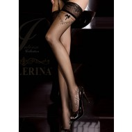 Ballerina Stockings - 'Just for You' Black Hold Ups
