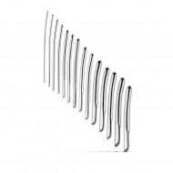 Stainless Steel Dilators - Single Ended 14pc Set 4mm - 17mm