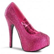 Teeze: Glitter Court Shoe