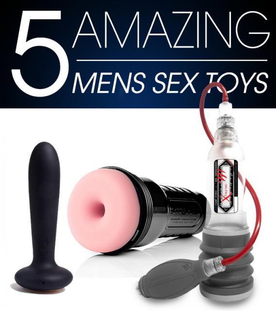 5 Amazing Men's Sex Toys