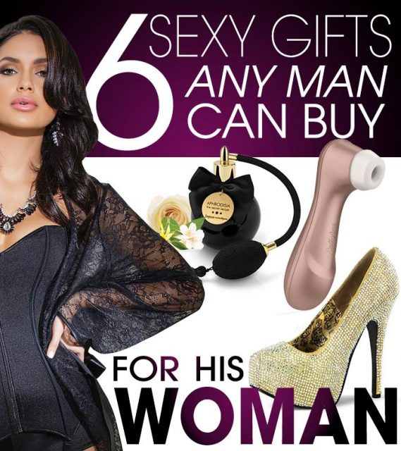 6 Sexy Gifts Any Man Can Buy For His Woman